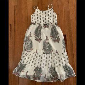 Children's Place girls size sm paisley dress EUC